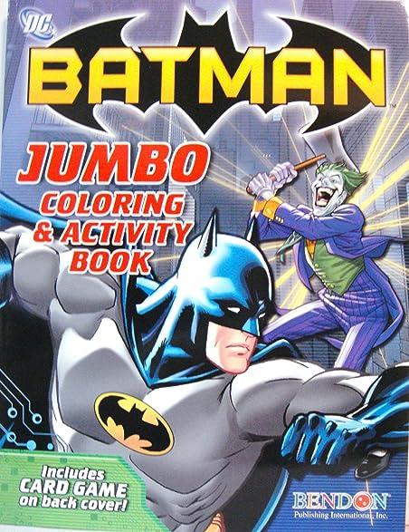 BATMAN COLORING ACTIVITY BOOK