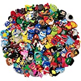 20,50,100Pcs Different Boys Shoe Charms for Shoes and Bracelet with Hole