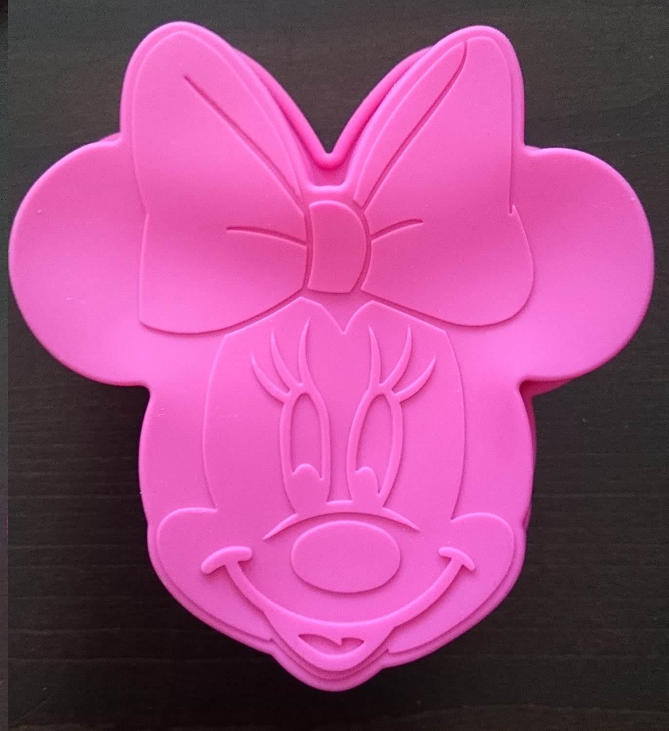 Pate A Sucre Minnie. Top Minnie Birthday Cake With Pate A Sucre ...