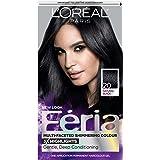L'Oréal Paris Feria Permanent Hair Color, 20 Black Leather (Natural Black)