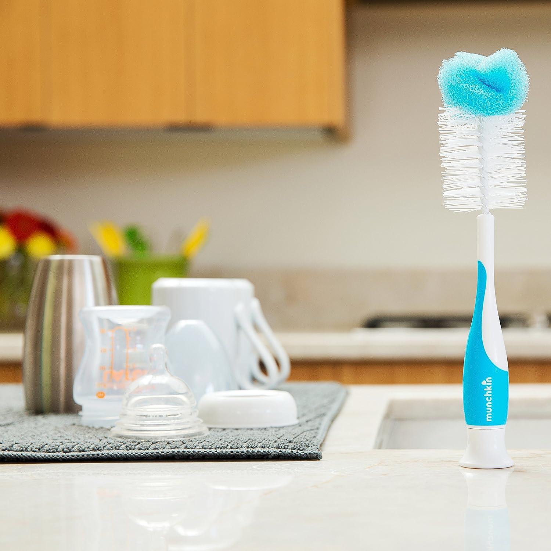 Blue Munchkin Sponge Bottle Brush
