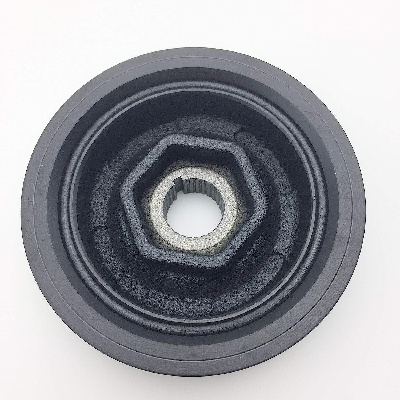 JSD Crankshaft Pulley Harmonic Balancer for Honda Accord CRV Civic Element 2002-2008 Acura TSX 13810PNA013