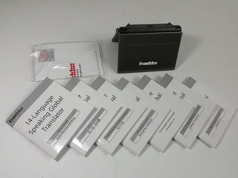 Franklin Electronic FR-S1400 14-Language Spkg Global Transl