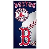 MLB Boston Red Sox Emblem Beach Towel, 28 x 58-Inch