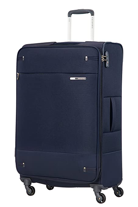 Samsonite - Base Boost - Spinner Maleta 78 cm, 113 L, Azul (Navy Blue)