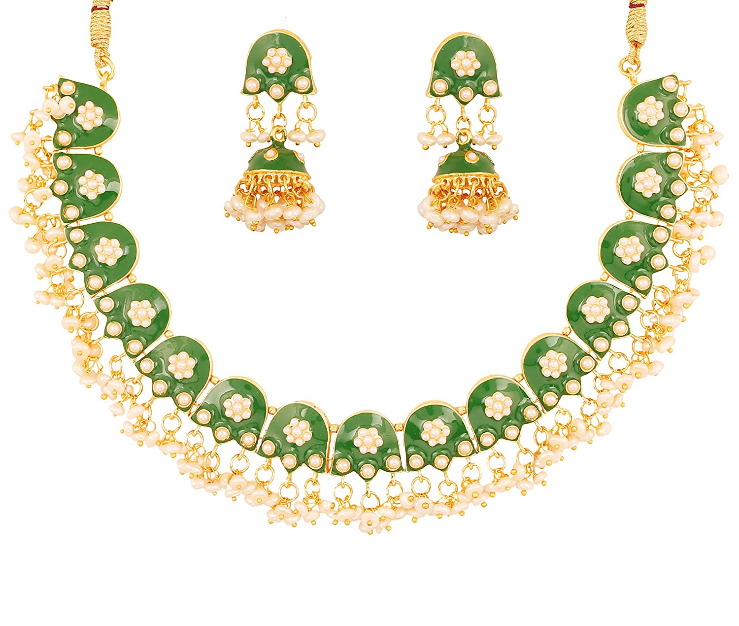 Engagement & Wedding 2019 New Style Traditional Ethnic Bollywood Kundan Polki Dangle Earrings Set Designer Jewellery Jewelry & Watches
