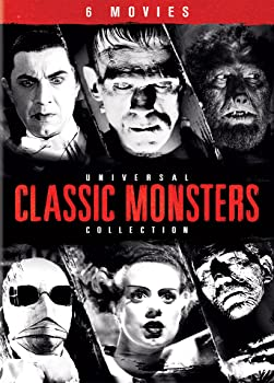 Universal Classic Monsters Collection on DVD