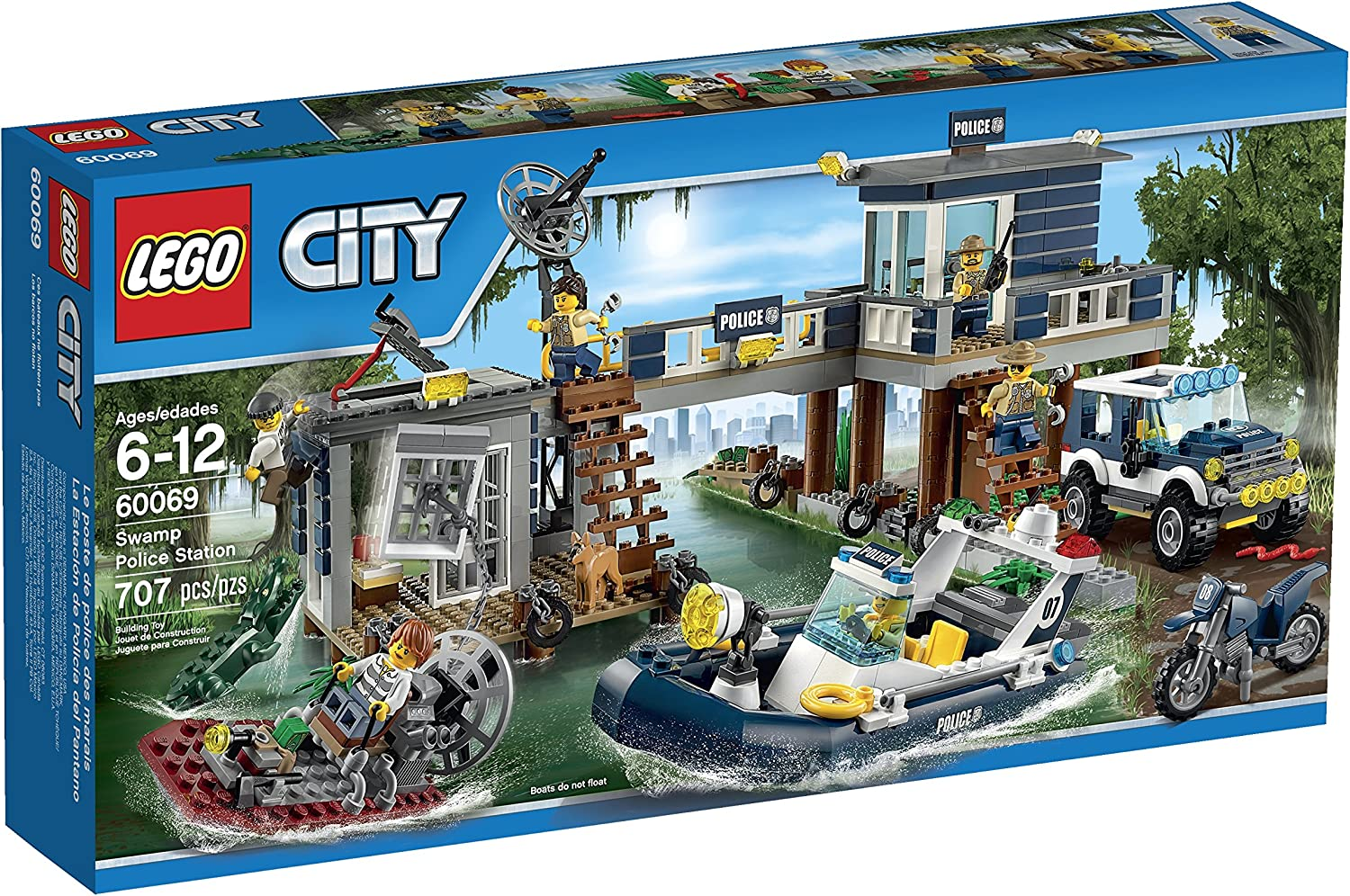 LEGO City Police Swamp Police Station