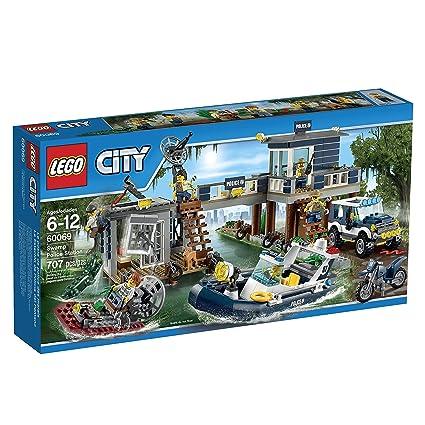 Amazon.com: LEGO City Police Swamp Police Station: Toys & Games