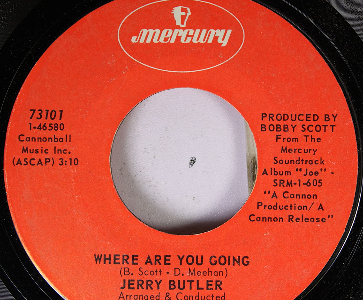 Jerry Butler - Jerry Butler 45 RPM Where Are You Going / You Can Fly -  Amazon.com Music