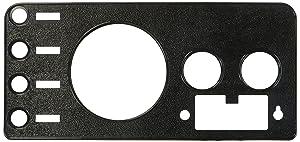 Crown Automotive J5457117 Black Dash Overlay Panel