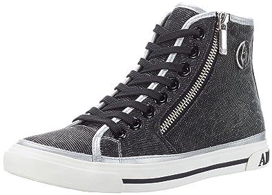 Armani Jeans 9252277p615, Sneakers Basses femme - argent - Silber  (argento), 36 0520453375d5