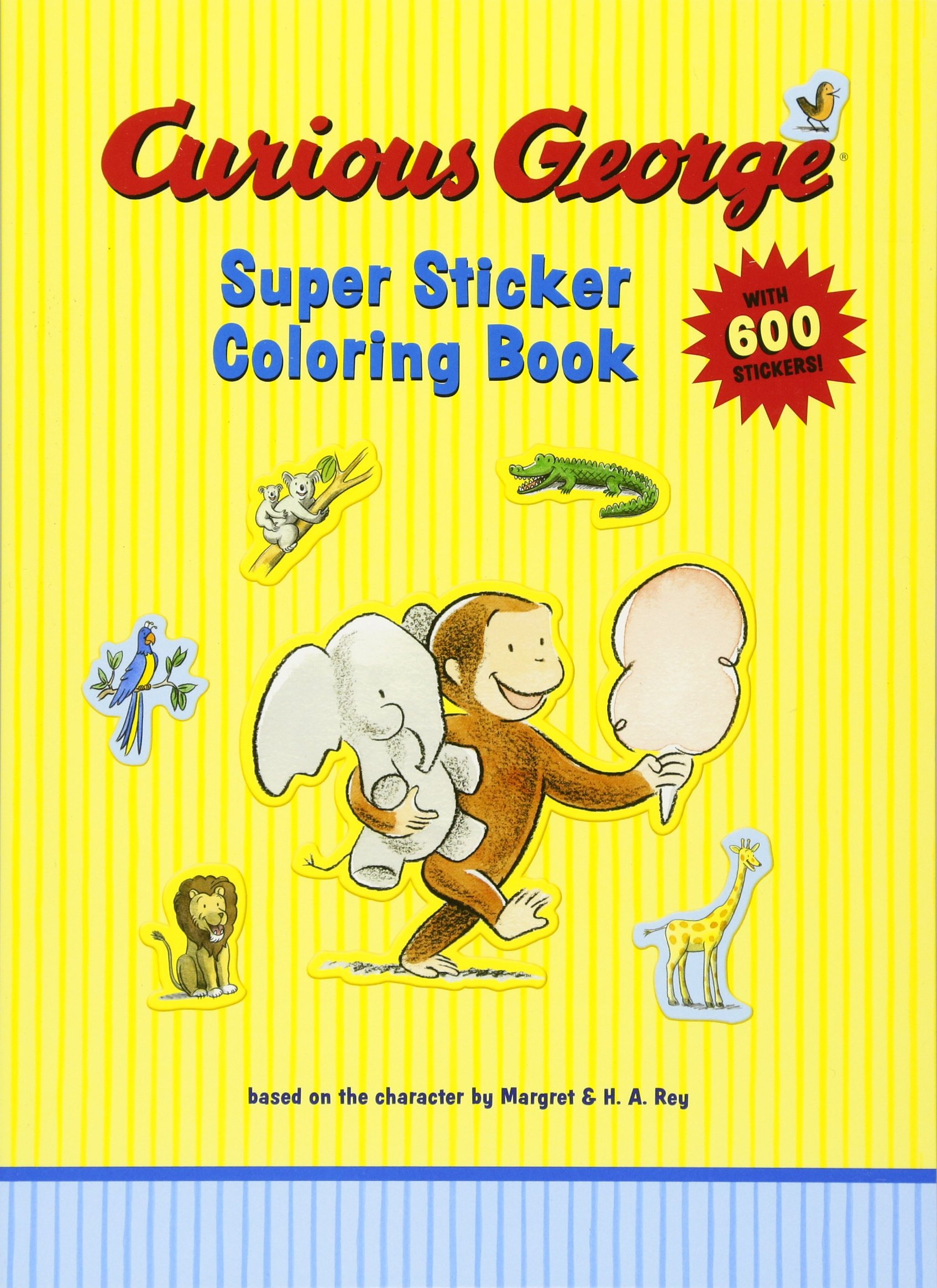 Printable Curious George Coloring Pages | ColoringMe.com | 2330x1695
