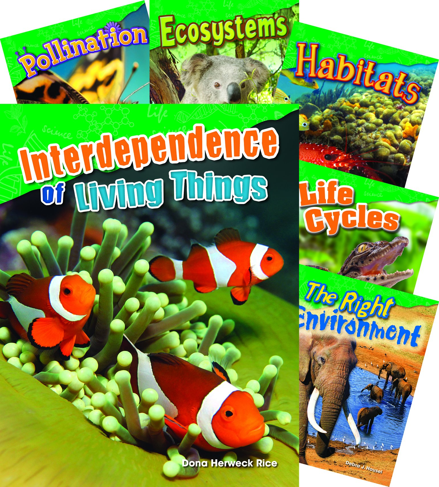 Let's Explore Life Science Grades 2-3, 10-Book Set (Science Readers: Content and Literacy)