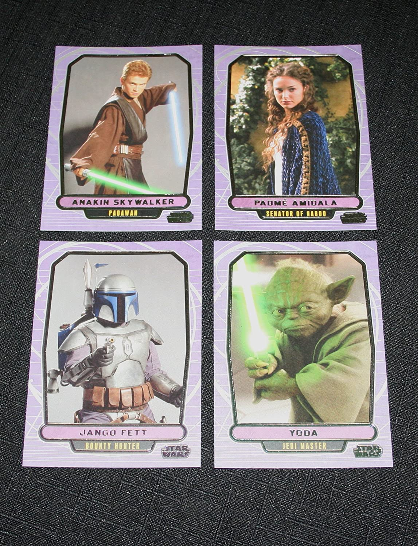 350 Karten Star Wars Galactic Files Serie 1 Basissatz