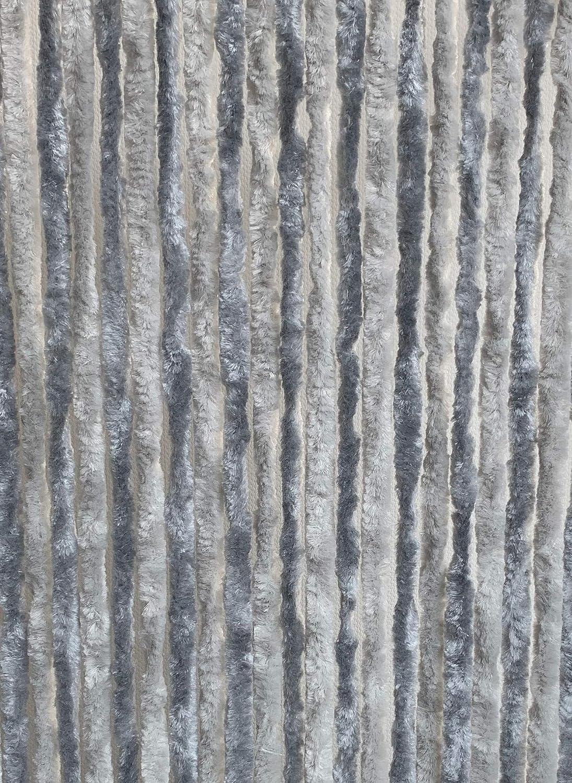 Flauschvorhang Chenille 56x185cm gelb Türvorhang Fliegenschutz Insektenschutz