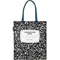 Out of Print Composition Notebook Tote Bag 15 X 17 Inches