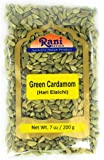 Rani Green Cardamom Pods Spice (Hari Elachi) 7oz (200g)