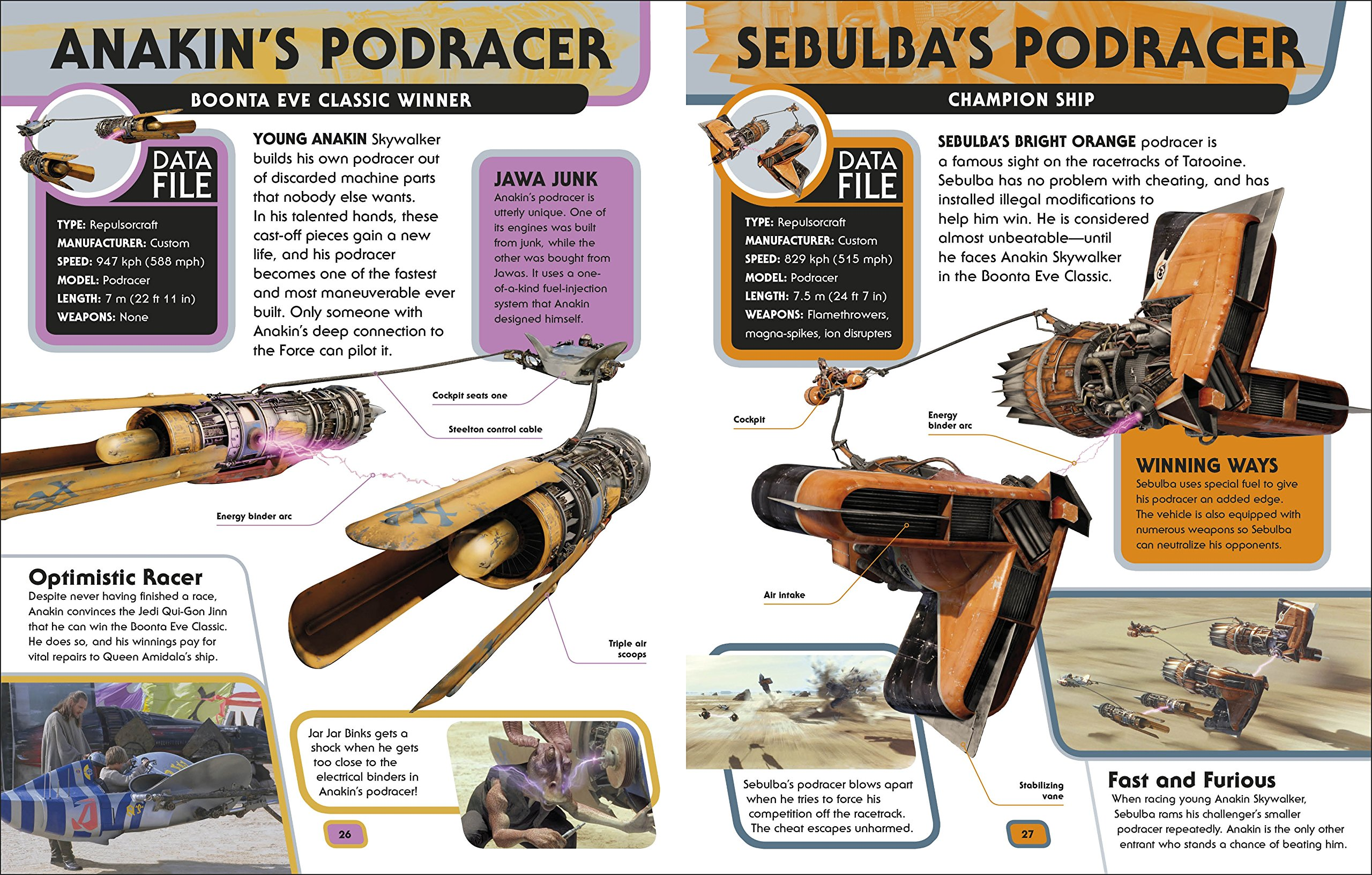 Star Wars  Encyclopedia of Starfighters and Other Vehicles by DK Publishing (Image #3)