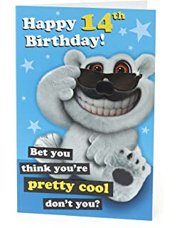 Age 14 Birthday Card