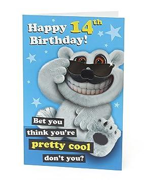 Age 14 Birthday Card