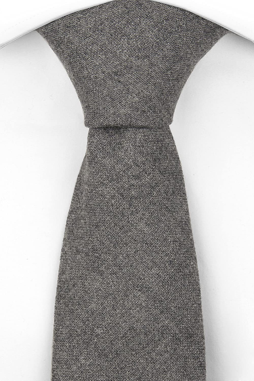 Necktie - BURTON - Plain grey base $37.00 AT vintagedancer.com