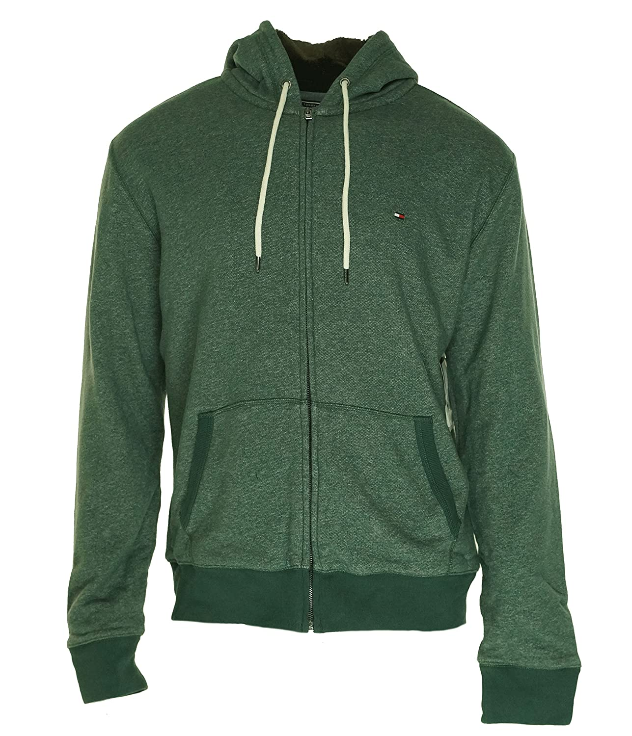 235ccd17d Tommy Hilfiger Mens Fur Lined Full Zip Hooded Sweatshirt ...