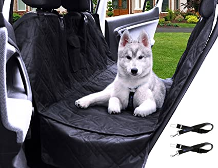 transpawt luxury dog car seat covers   hammock waterproof pet back seat cover for cars amazon    transpawt luxury dog car seat covers   hammock      rh   amazon