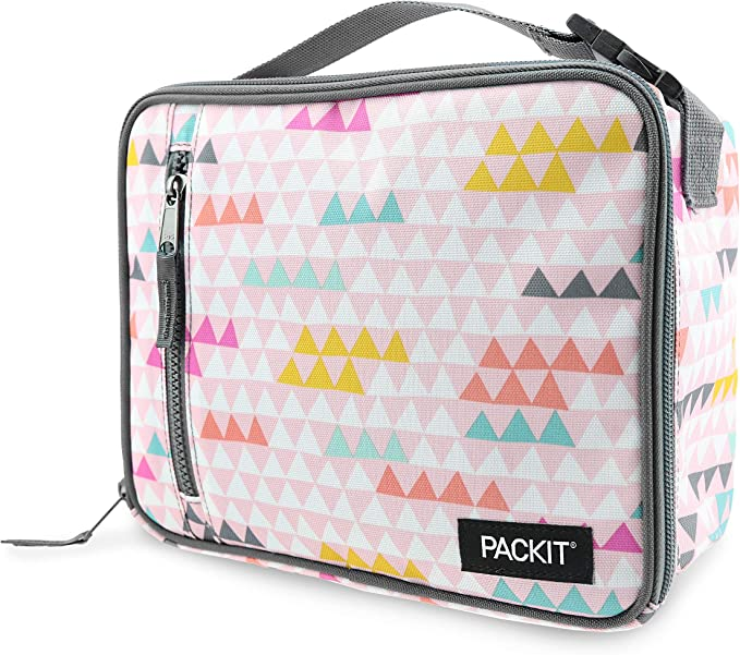 PackIt Classic Nevera portátil, Multicolor (Paper Triangles), 4.5: Amazon.es: Deportes y aire libre
