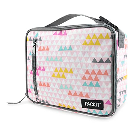 PackIt Classic Nevera portátil, Multicolor (Paper Triangles), 4.5 ...