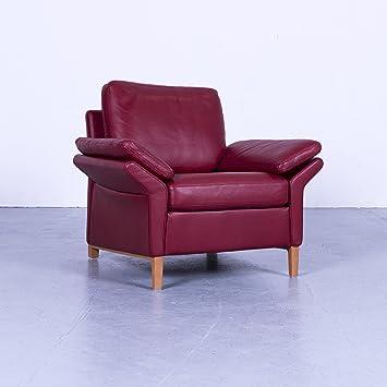 Amazon De Rolf Benz 3300 Designer Leder Sessel Rot