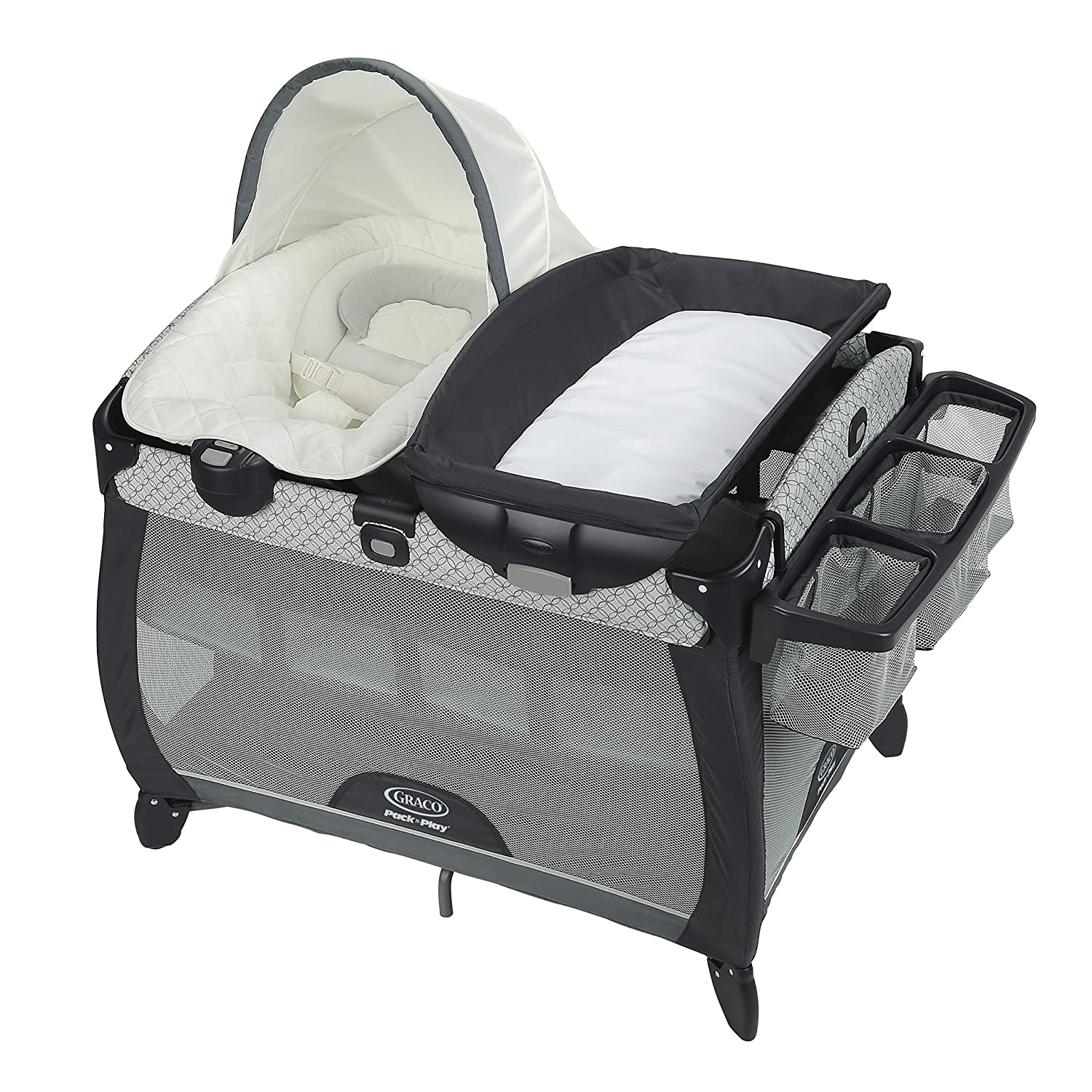 McKinley Graco Pack n Play Playard Quick Connect Portable Seat Deluxe