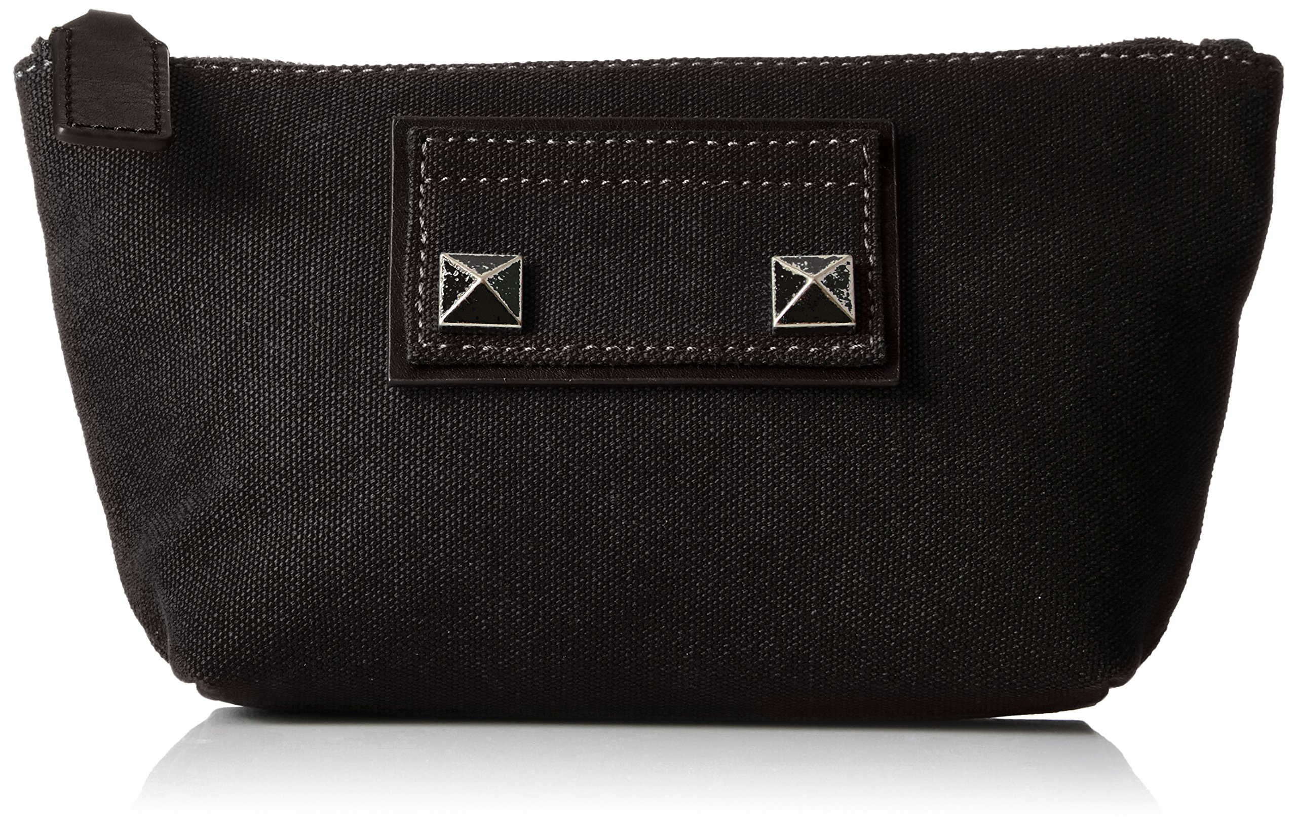 Marc Jacobs Trapezoid Canvas Chipped Studs Bag, Black