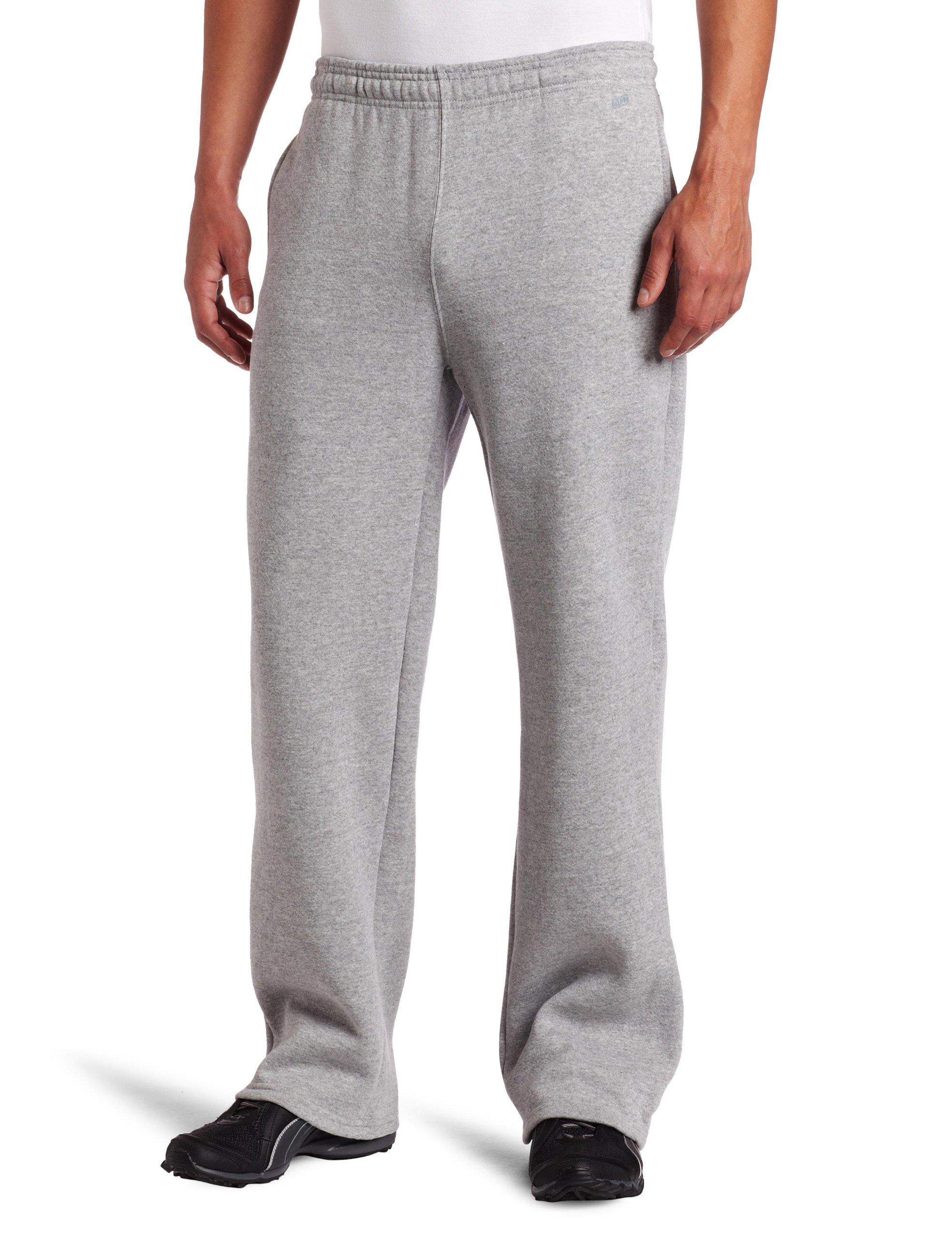 Soffe Men's Training Fleece Pocket Pant Oxford Small
