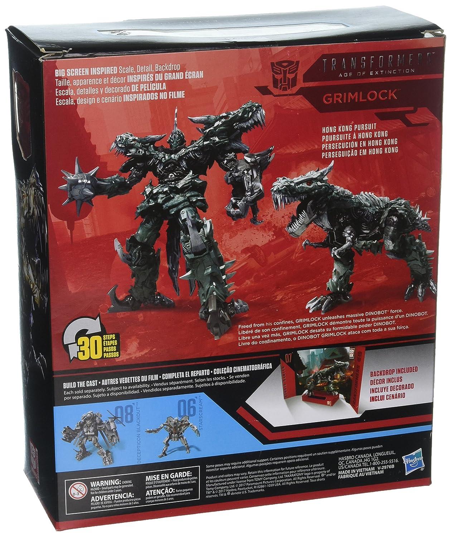 Transformers Studio Series 07 Leader Class Movie 4 Grimlock: Amazon.es: Juguetes y juegos
