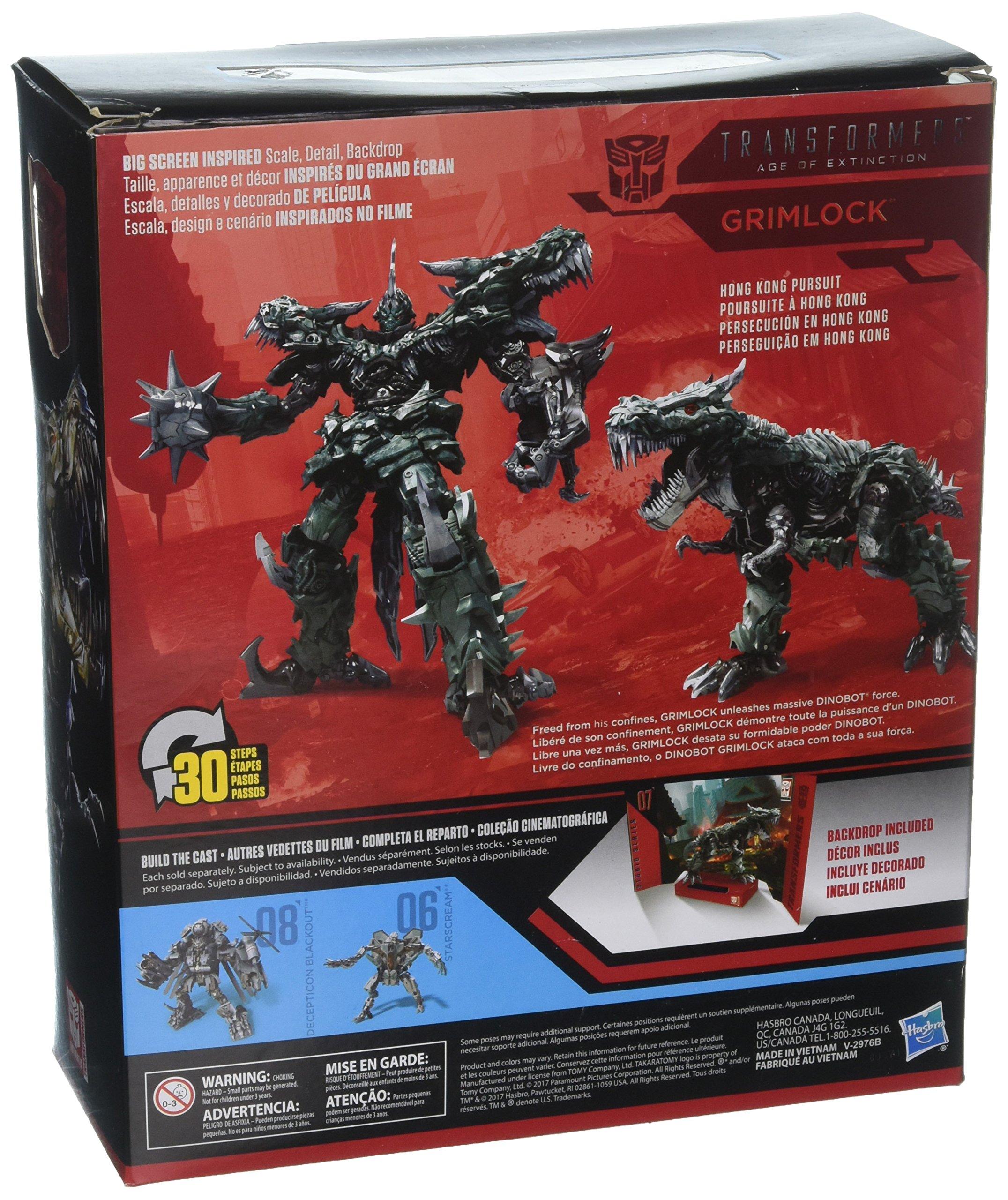 Transformers Studio Series 07 Leader Class Movie 4 Grimlock by Transformers (Image #2)