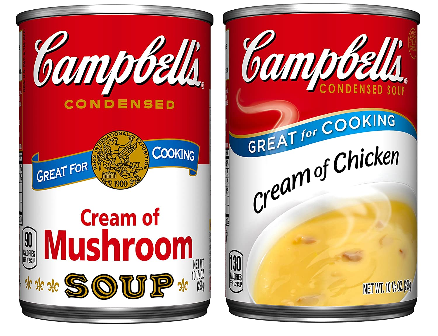 Campbell's Condensed Cream Soup Variety Pack, 10.5 oz. Cans (Pack of 6)