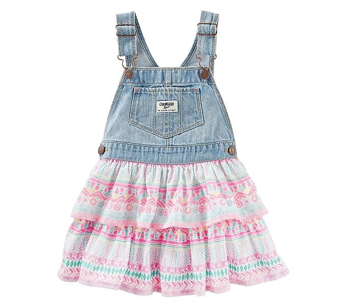 cd351342f7fa Amazon.com  OshKosh B Gosh Baby Girls  Jumper With Geo Print Skirt ...
