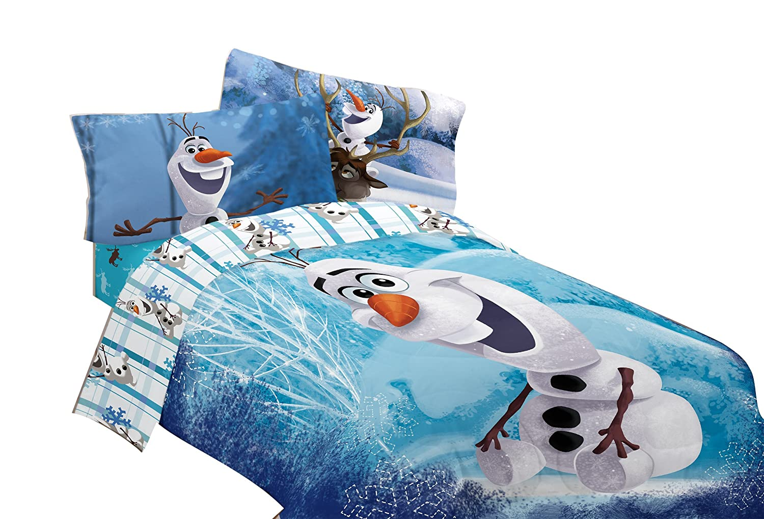 Amazon.com: Disney Frozen Olaf Build a Snowman 72 by 86-Inch Microfiber  Comforter, Twin/Full: Home & Kitchen - Amazon.com: Disney Frozen Olaf Build A Snowman 72 By 86-Inch