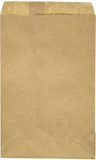 Amazon.com: My Craft Supplies 200 Brown Kraft Paper Bags, 5 ...