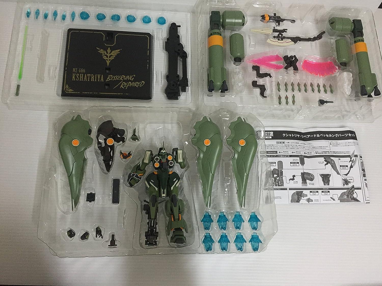 ROBOT魂 SIDE MS 動戦士ガンダムUC クシャトリヤリペアード&ベッセルングパーツセット フィギュア B00O2AJI7U