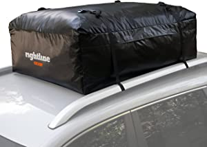 Rightline Gear Ace 2 Car Top Carrier, 15 cu ft, Weatherproof, Attaches With or Without Roof Rack