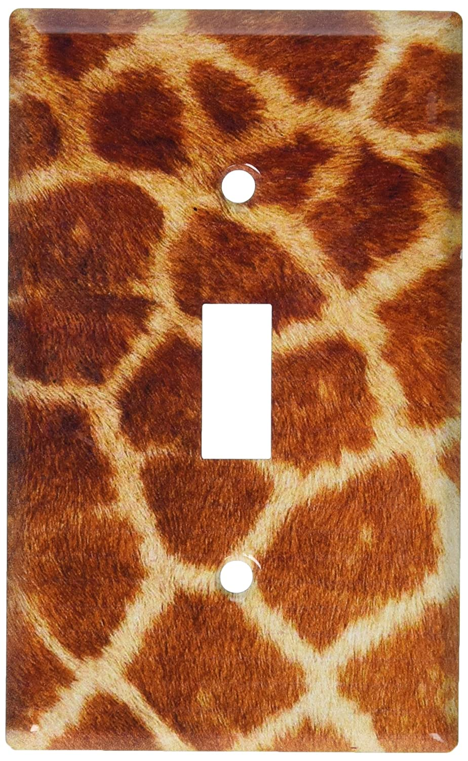 Art Plates Faux Giraffe Fur Switch Plate Double Toggle D673-plate