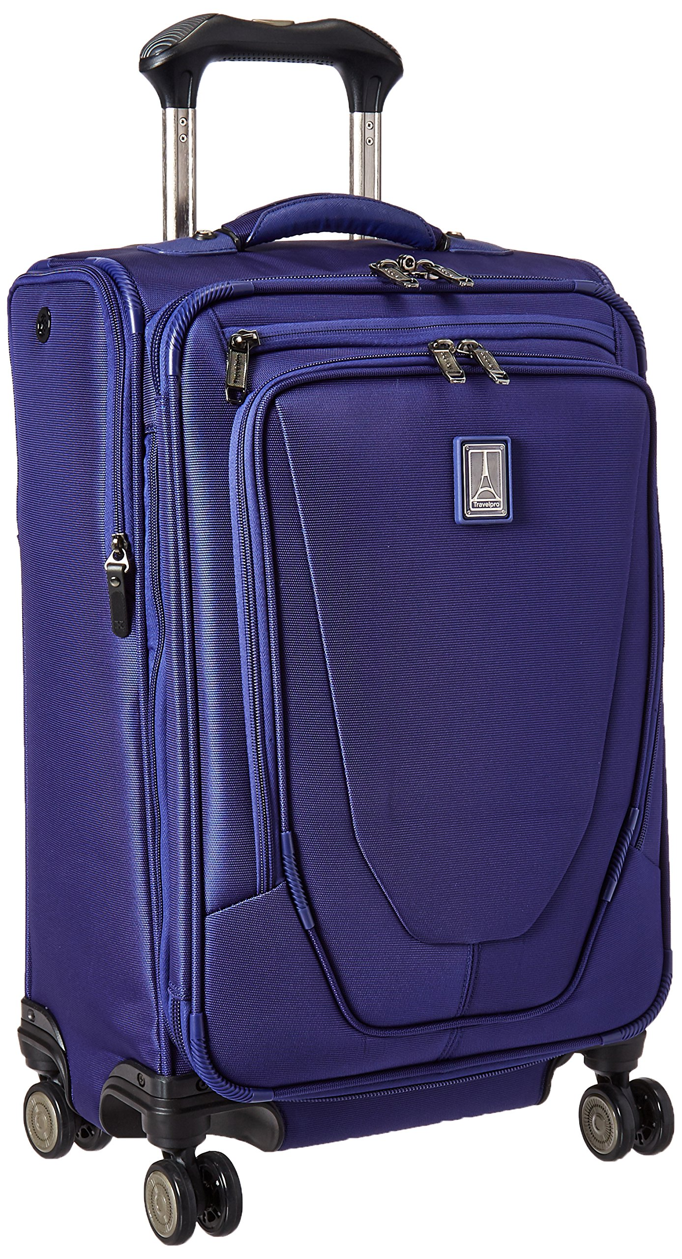 Travelpro Crew 11 21'' Expandable Spinner Carry-on Suiter Suitcase, Indigo by Travelpro
