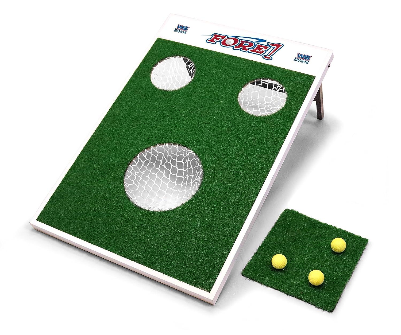 ワイルドスポーツfore-1 Fore Fore。ゴルフチップゲーム B07DLJKBBK、グリーン B07DLJKBBK, ライズアップ:be12db47 --- lembahbougenville.com