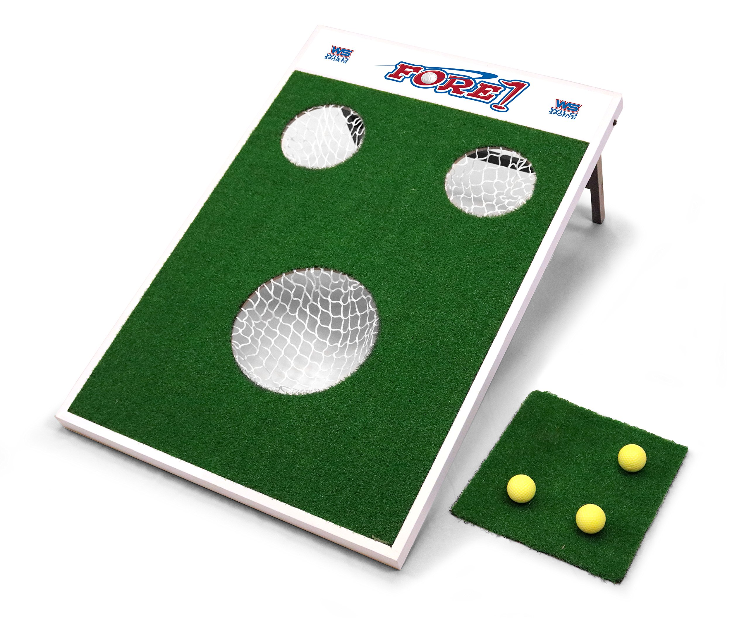 Wild Sports FORE-1 Fore! Golf Chip Game, Green by Wild Sports