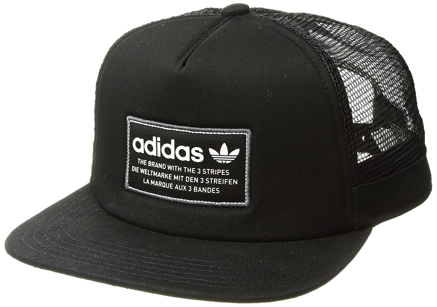 00d69a60f9 Adidas Men's Originals Patch Trucker Baseball Cap