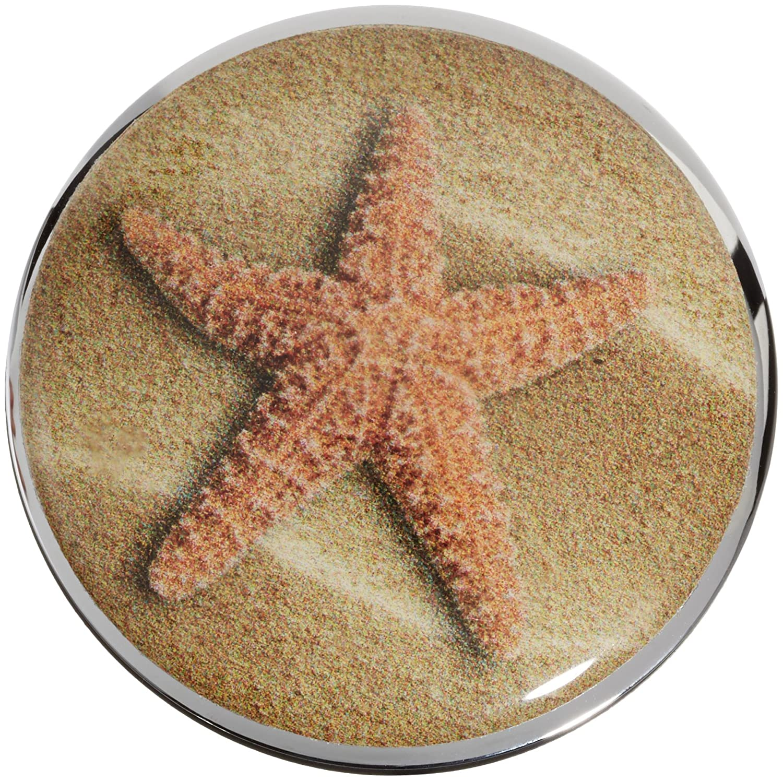 Waschtisch St/öpsel f/ür Waschbecken Excenter Stopfen Plopp Waschbeckenst/öpsel Seestern // Starfish Abfluss