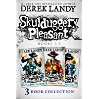 Skulduggery Pleasant: Books 1 – 3: The Faceless Ones Trilogy: Skulduggery Pleasant, Playing with Fire, The Faceless Ones