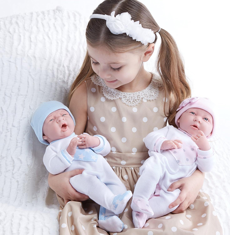 Amazon JC Toys La Newborn in Pink Heart Pajamas Realistic 15